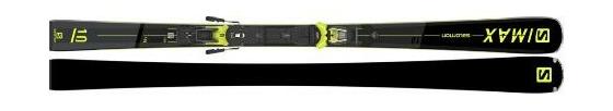 Горные лыжи Salomon S/Max 10 + крепления M12 GW F80 21/22