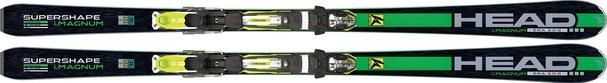 Горные лыжи Head i.Supershape Magnum + крепления PRX 12 S BR80