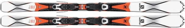 Горные лыжи Salomon X-Drive 7.5 R + крепления Lithium 10