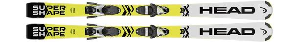 Горные лыжи Head Supershape SLR2 + крепления SLR 7.5 AC