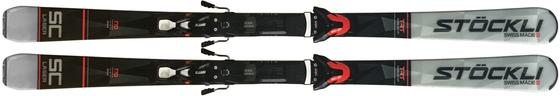 Горные лыжи Stockli Laser SC + крепления MC 12