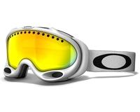 Маска Oakley A-Frame Matte White/Fire Iridium