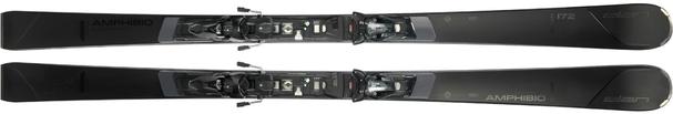 Горные лыжи Elan Amphibio Black Edition Fusion + крепления ELX 12.0