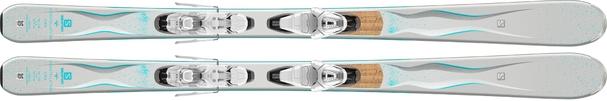Горные лыжи Salomon Cira + крепления Lithium 10 W