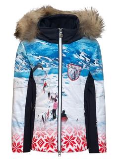 Куртка с мехом Sportalm Chica m.Kap+P