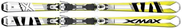 Горные лыжи Salomon X-Max X10 + крепления XT 12
