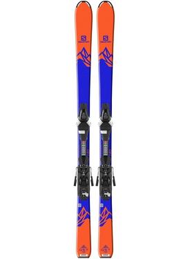 Горные лыжи Salomon QST Max JR M + крепления C5