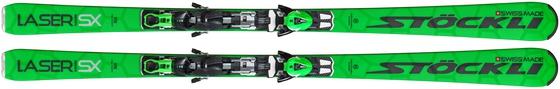Горные лыжи Stockli Laser SX + крепления SP 12 Ti