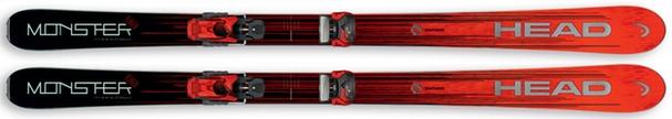 Горные лыжи Head Monster 88 + крепления Attack2 13