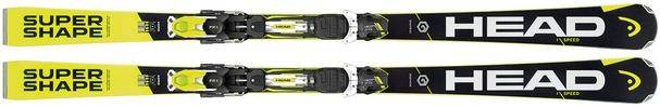 Горные лыжи Head i.Supershape Speed (170) + крепления PRX 12