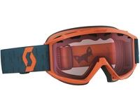 Детская маска Scott Hook Up Jr Crush Orange/Coral Blue / Amplifier