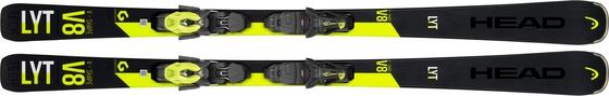 Горные лыжи Head V-Shape V8 + крепления PR 11