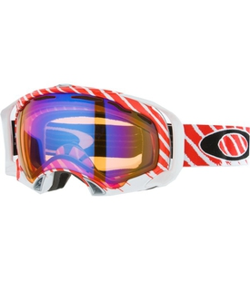 Маска Oakley Splice Shaun White White Red / H.I. Persimmon