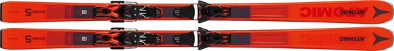 Горные лыжи Atomic Savor 5 Red + крепления FT 10 GW