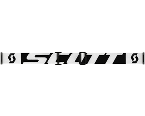 Маска Scott LCG Black-White / Solar Black Chrome + Illuminator