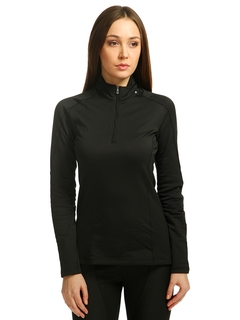 Salomon кофта HV WT Long Sleeve Zip Neck W