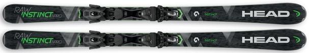 Горные лыжи Head Raw Instinct Ti Pro + крепления PRD 12