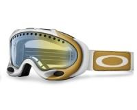 Маска Oakley A-Frame Lindsey Vonn sig. White Gold / H.I. Yellow