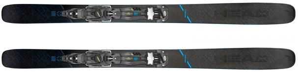 Горные лыжи Head Kore 117 + крепления Attack2 16 GW