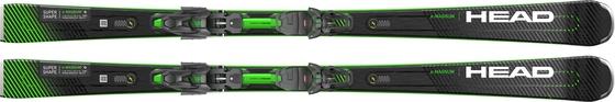 Горные лыжи Head Supershape e-Magnum + крепления PRD 12