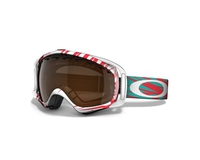 Маска Oakley Crowbar Scratch Red / Black Iridium