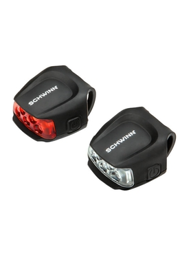 Комплект фонарей  Schwinn Quick Wrap Light Set 26 lumens
