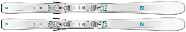 Горные лыжи Salomon Aira 76 ST R + крепления Lithium 10 W