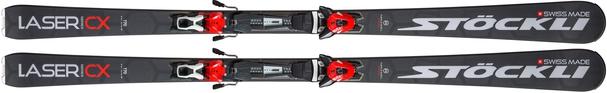 Горные лыжи Stockli Laser CX + крепления MC 12
