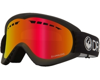 Маска Dragon DX Black / LL Red Ionized
