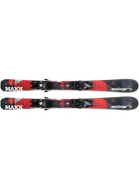 Горные лыжи Elan Maxx Red QS 130-150 + крепления EL 7.5 Shift