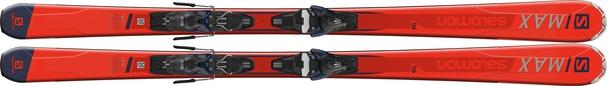 Горные лыжи Salomon S/Max 6 + крепления Mercury 11