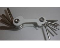 Ключ раскладной Bike Attitude 9in1 Folding Tool Nickel