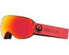 Маска  Dragon X2S Mill / Lumalens Red Ionized + Lumalens Rose