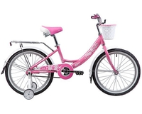 Велосипед Novatrack Girlish Line 20 (на рост 122)