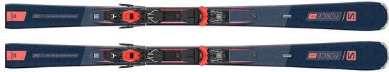 Горные лыжи Salomon S/Force Fever  + крепления M11 GW