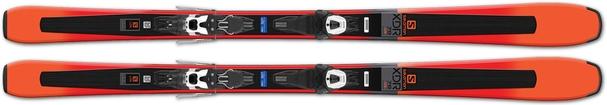 Горные лыжи Salomon XDR 78 STR + Lithium 10 L