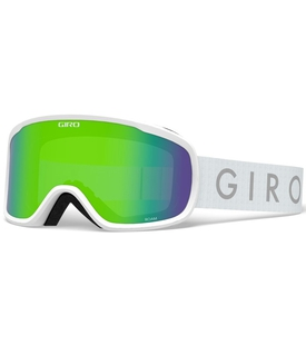 Маска Giro Roam White Core / Loden Green 26 + Yellow 84