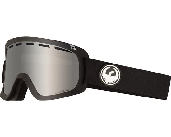 Маска Dragon D1 OTG Black / Lumalens® Silver Ionized