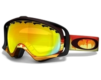 Маска Oakley Crowbar Shockwave Fire/Fire Iridium