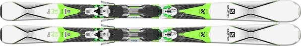 Горные лыжи Salomon X-Drive 8.0 + крепления XTO 10