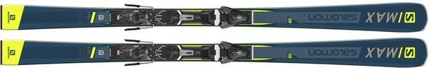 Горные лыжи Salomon S/Max 8 + крепления Mercury 11