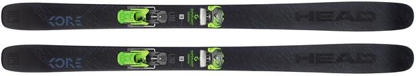 Горные лыжи Head Kore 105 + крепления AAAttack2 13