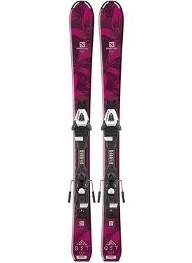 Горные лыжи Salomon QST Lux JR S + крепления C5