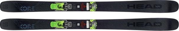 Горные лыжи Head Kore 99 + крепления AAAttack2 13