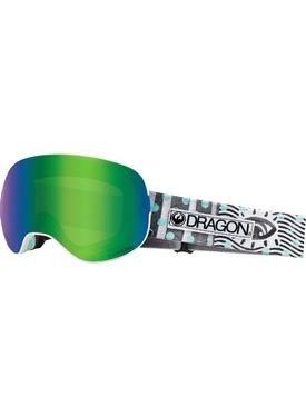 Маска Dragon X2 Newwave / Lumalens® Green Ionized+ Lumalens® Amber