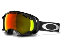 Маска Oakley Splice Jet Black/Fire Iridium Polarized