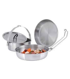 Набор туристической посуды Tatonka Camp Set Regular