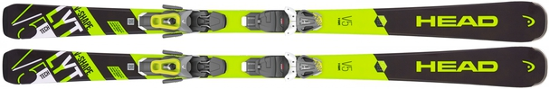 Горные лыжи Head V-Shape 5R + крепления PR 11