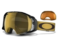 Маска Oakley Airbrake Shaun White Sign. Gold Future Primitive/24K Iridium & Persimmon