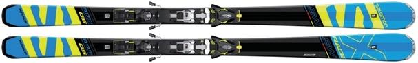 Горные лыжи Salomon X-Race SW + крепления Z12 Speed